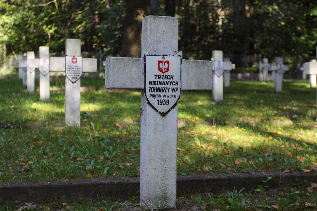 Graves of the fallen soldiers of the Polish Army